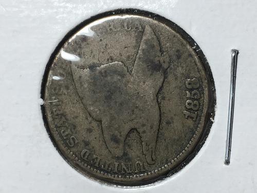 1858 Flying Eagle Cent Item 1018050