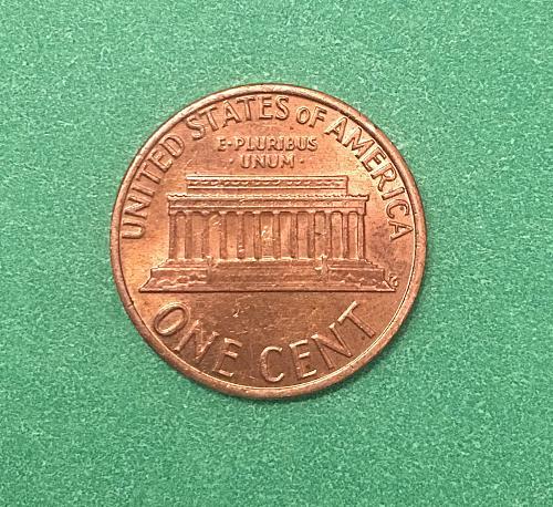 1979 Lincoln Memorial Red 1979 Lincoln Memorial Red Cent With Misaligned Die