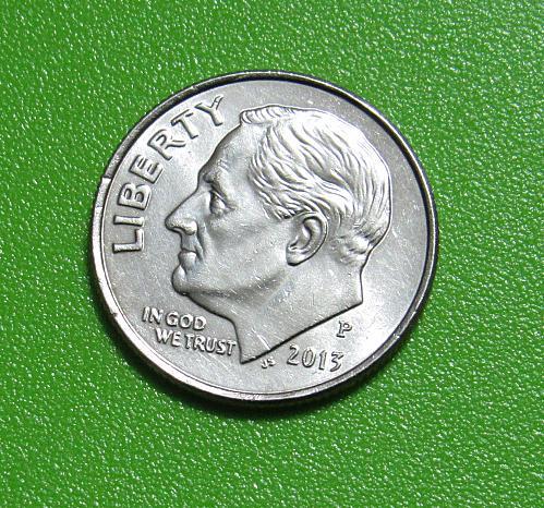 2013-P 10 Cents - Roosevelt Dime