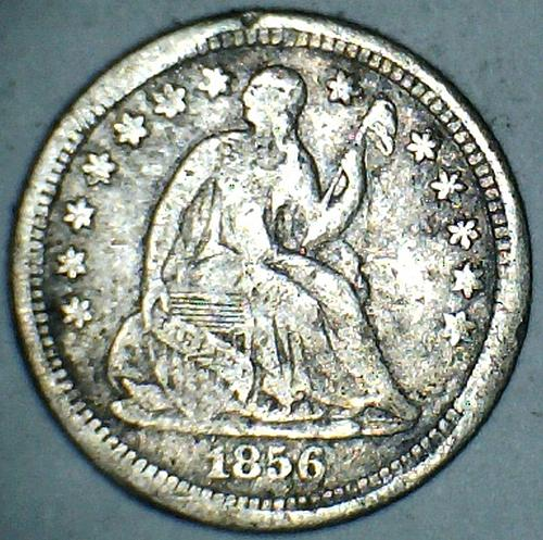 1856 New Orleans Seated Liberty Half Dime