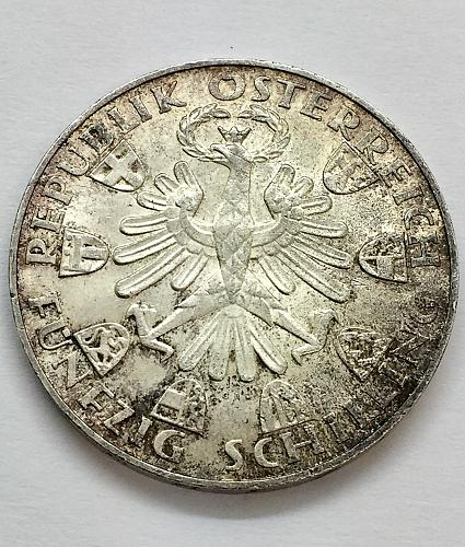 1959 Austria 50 Schilling