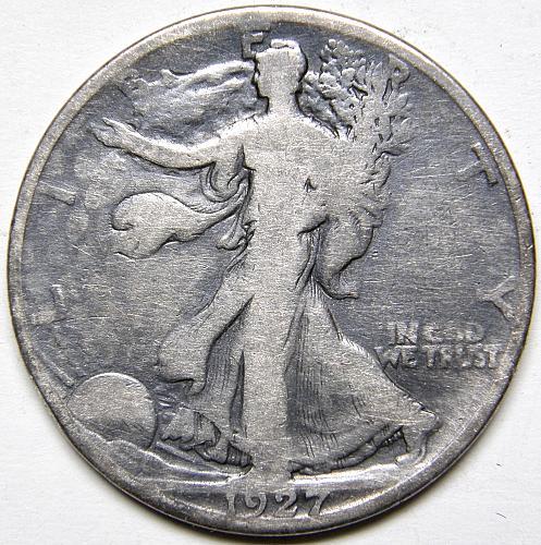 1927 S Walking Liberty Half Dollar #5