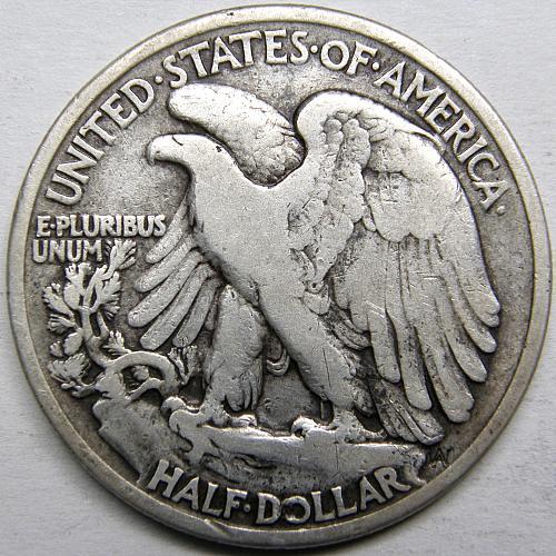 1934 P Walking Liberty Half Dollars #2