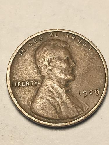 1909 Lincoln Wheat Cent Item 1018229
