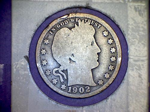 1902 Barber Quarter