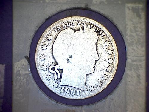 1900 Barber Quarter