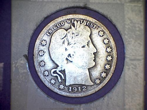 1912 Barber Quarter