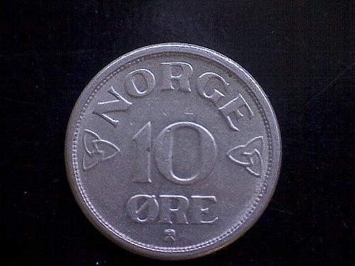1952 NORWAY TEN ORE