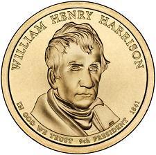 2009 P  WILLIAM HENRY HARRISON  GOLDEN DOLLAR