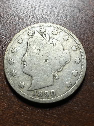 1890 Liberty Nickel Item 1018243
