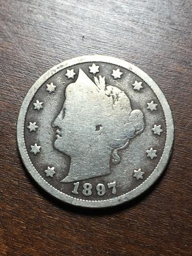 1897 Liberty Nickel Item 1018244