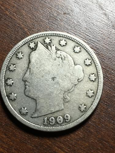 1909 Liberty Nickel Item 1018249