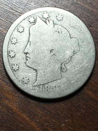 1891? Liberty Nickel Item 1018258