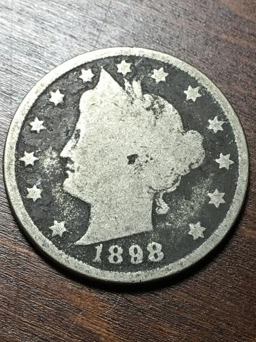 1898 Liberty Nickel Item 1018259