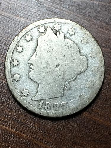 1897 Liberty Nickel Item 1018264