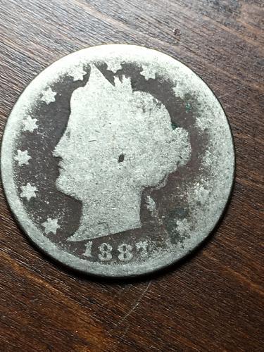 1887 Liberty Nickel Item 1018265