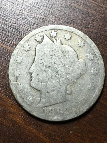 1892 Liberty Nickel Item 1018268