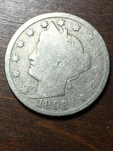1898 Liberty Nickel Item 1018275