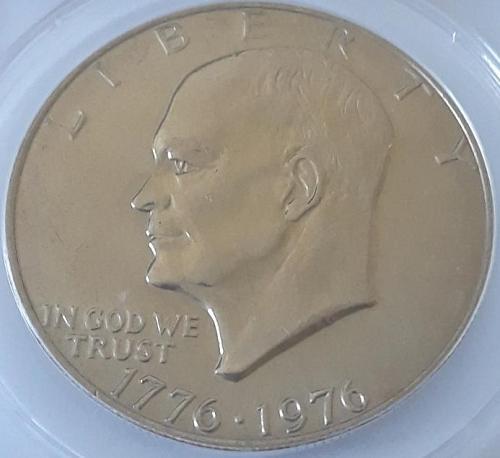 1976-P $1 VAR 1 MS 64 ANACS