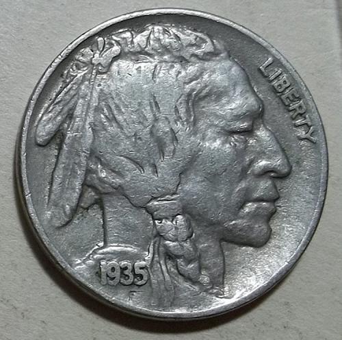 1935p Buffalo Nickel Lot BN3xx