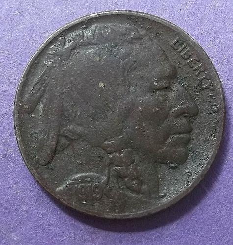 1919p Buffalo Nickel Lot BNsa5