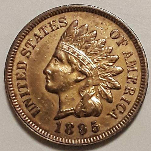 1895 P Indian Head Cent Small Cent