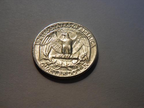 1964-D Silver Washington Quarter