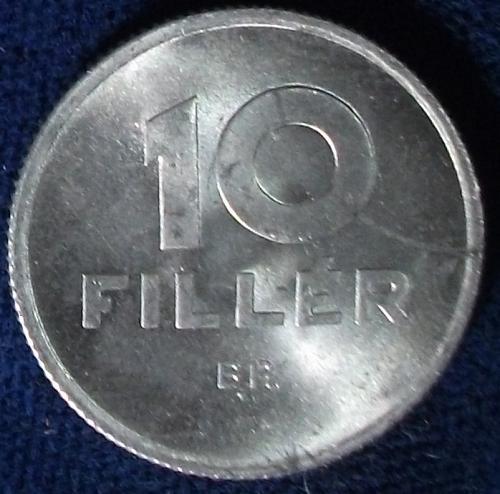 1965 Hungary 10 Filler BU