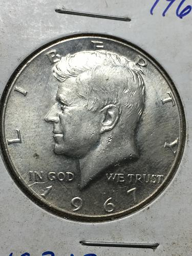 1967 Kennedy Half Dollar Item 1018319