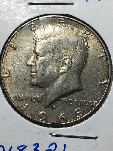 1968 D Kennedy Half Dollar Item 1018321