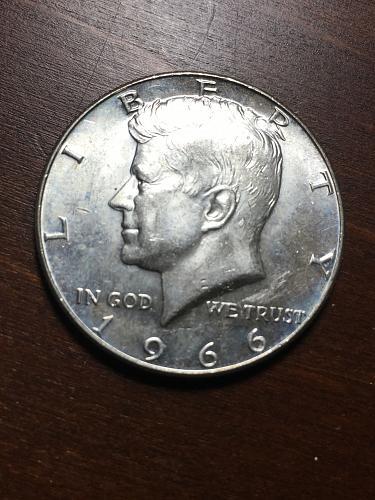 1966 Kennedy Half Dollar Item 1018324