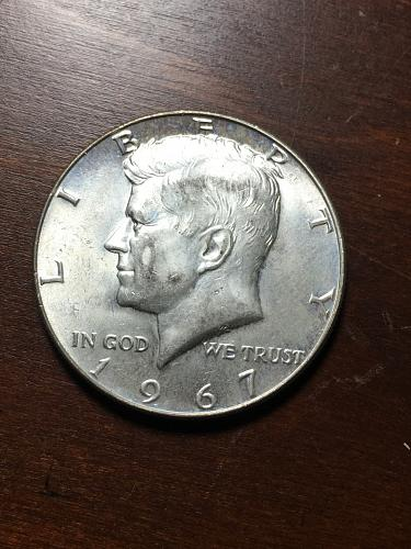 1967 Kennedy Half Dollar Item 1018325