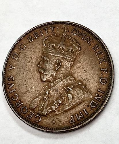 1936 Australia One Penny