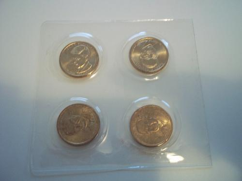 2015 PRESIDENTIAL $1 FOUR-COIN SET P