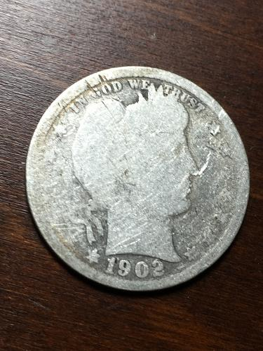 1902 Barber Quarter Item 1018335