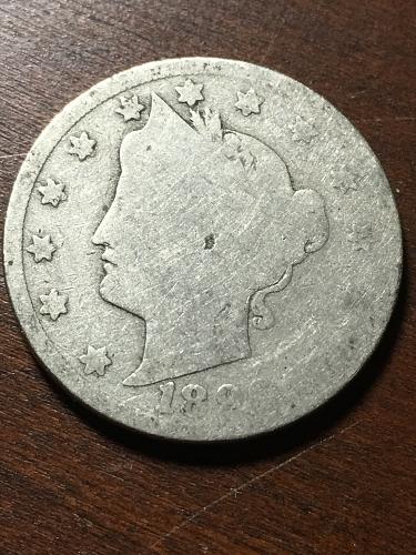 1896 Liberty Nickel Item 1018374