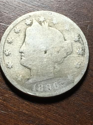 1896 Liberty Nickel Item 1018378