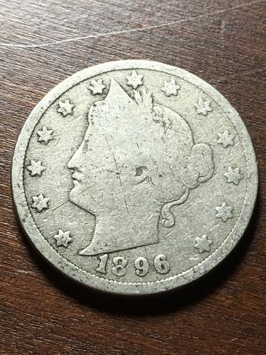 1896 Liberty Nickel Item 1018379