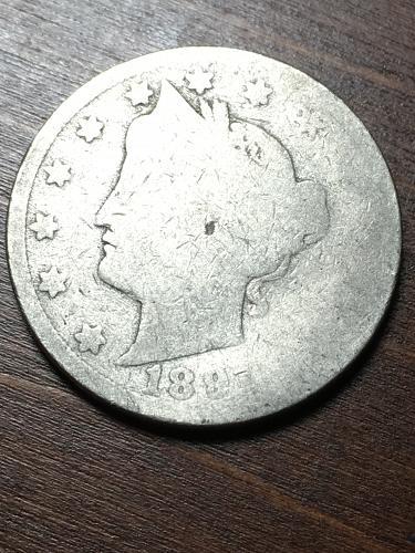 1891???? Liberty Nickel Item 1018402