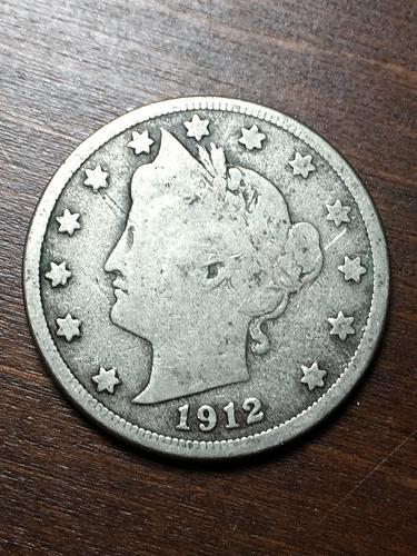 1912 D Liberty Nickel Item 1018405