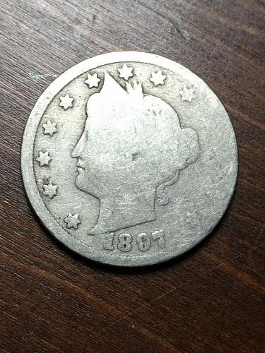1897 Liberty Nickel Item 1018406