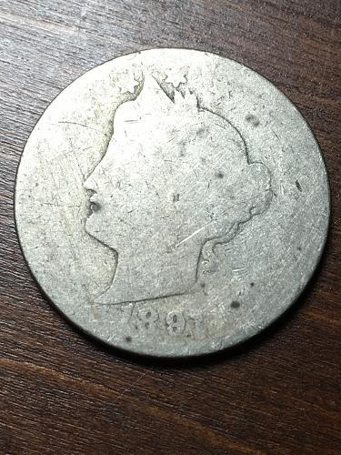 1891 Liberty Nickel Item 1018408
