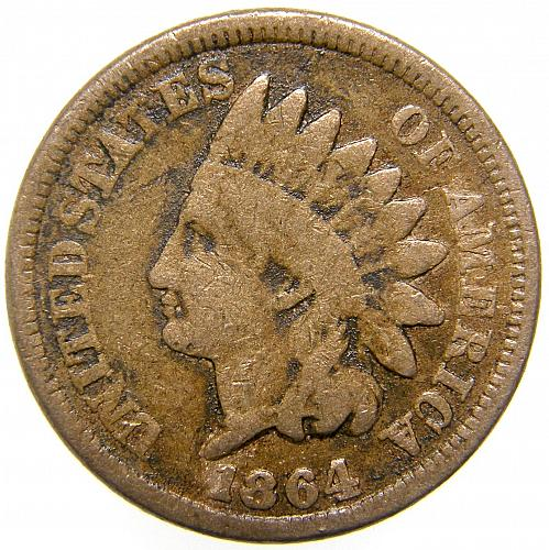 1864 Indian Head Cent #15