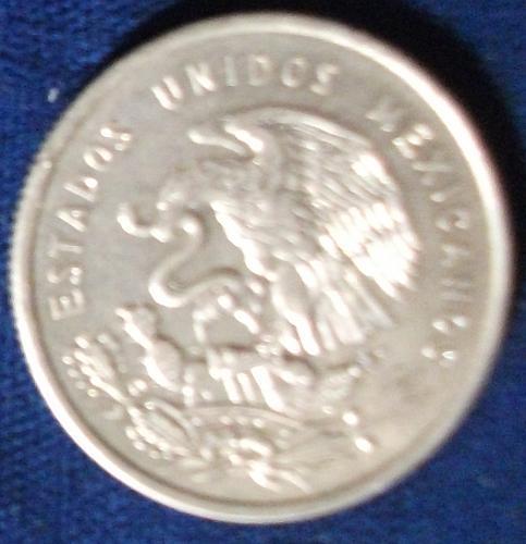 1951 Mexico 50 Centavos AU