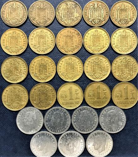 Spain 1 Peseta = 1963 to 1989 [#1]