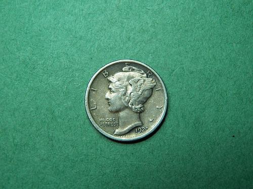 1920 P Mercury Dime Extra Fine Coin   R99
