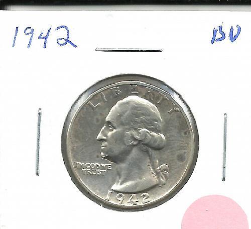 1942    WASHINGTON QUARTER