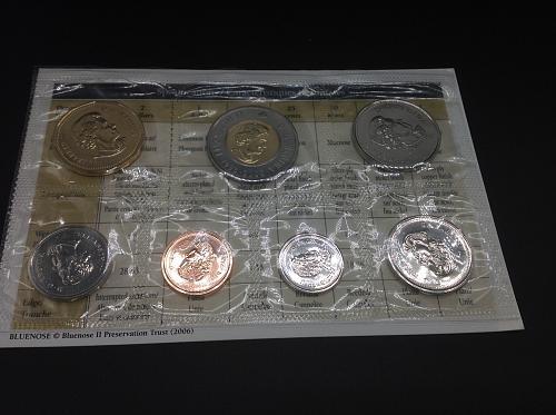 2006 Royal Canadian Mint Set