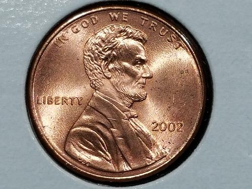 2002-P Lincoln Shield Cent