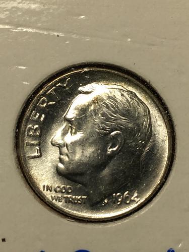 1964 Roosevelt Dime Item 1018473